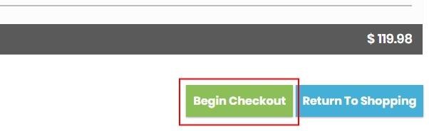 Begin checkout pic