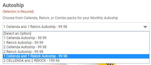 Pref Cust _ choose monthly autoship